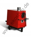 T40 movable warm air heater, max. 36 kw with fan for Oil / Universal oil b